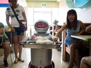 Restaurante con robots