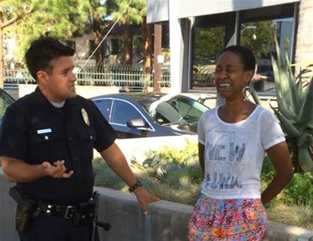 Daniele Watts actriz arrestada por la policía
