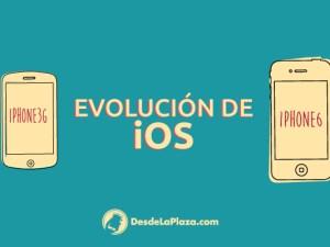 Evolución iOS