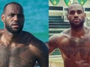 LeBron James tras adelgazar