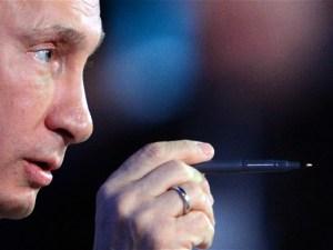 Vladimir Putin close up declaraciones