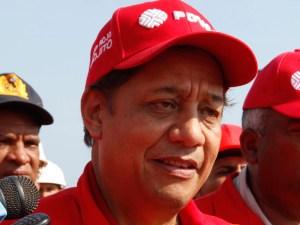 Asdrúbal Chávez para asumir el cargo de Ministro de Petróleo
