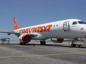 Avión de Conviasa