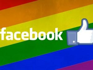 Facebook solidario con los LGBT