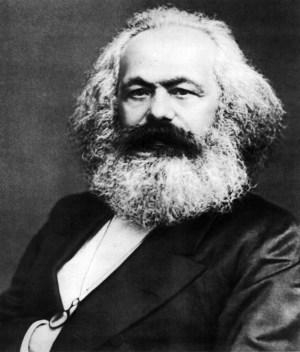Karl Marx (5 de mayo de 1818 - 14 de marzo de 1883)