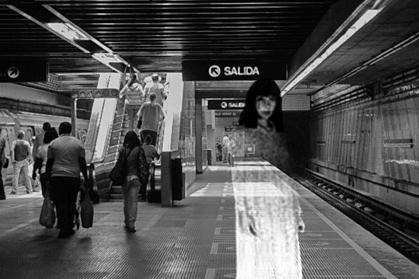 fantasma metro