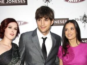 Demi Moore, su hija y su ex