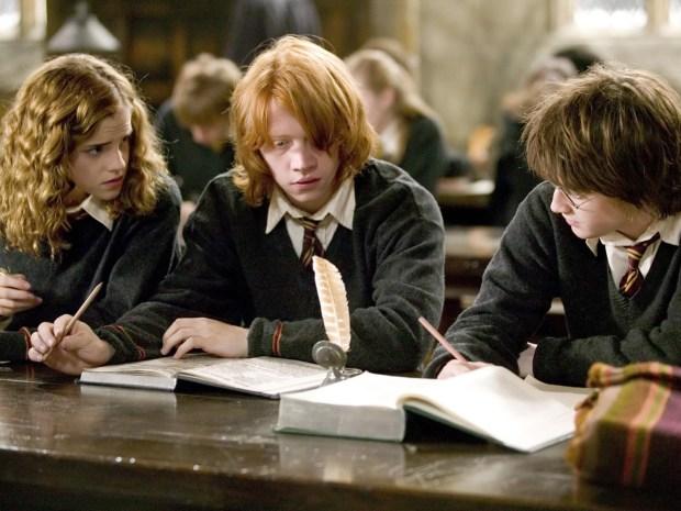 Hermione-granger-ron-weasley-harry-potter-hp4-study-6x4