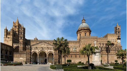 Catedrales de Cefalú y Monreale en Italia