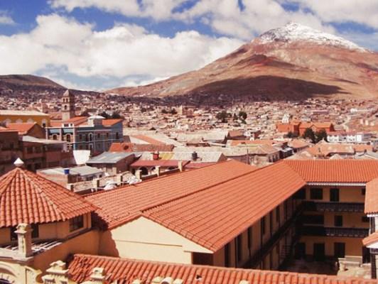 Ciudad boliviana de Potosí
