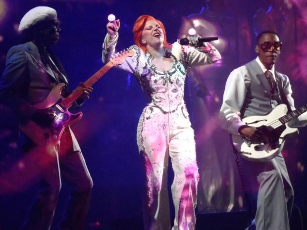 Lady Gaga homenaje David Bowie