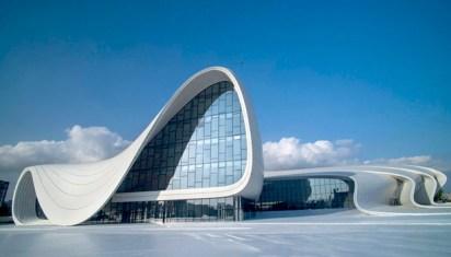 El Centro Cultural Heydar Aliyev