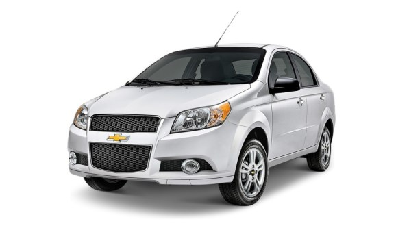 Chevrolet Aveo - sin airbags