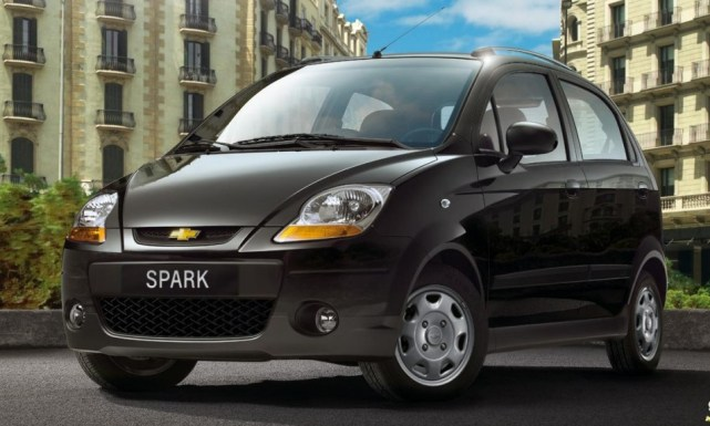 Chevrolet Spark sin airbags