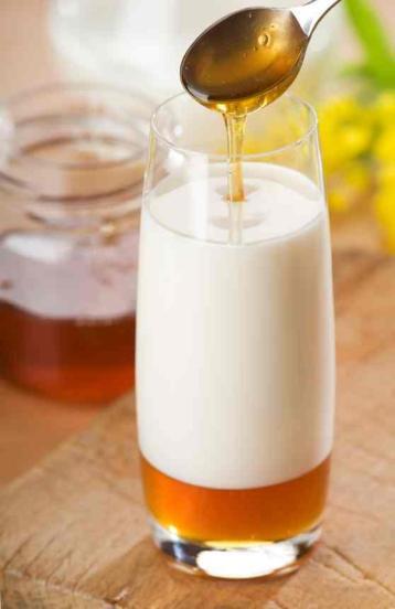 Miel con leche