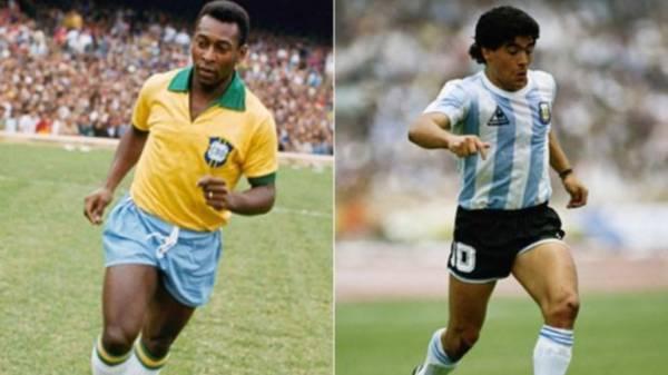 Pelé-Maradona