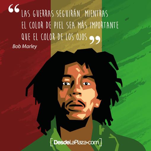Bob Marley Las 20 Mejores Frases Del Legado Del Cantante Jamaicano