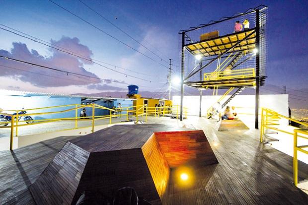 Mirador 70, un espacio para la recreacion y la cultura