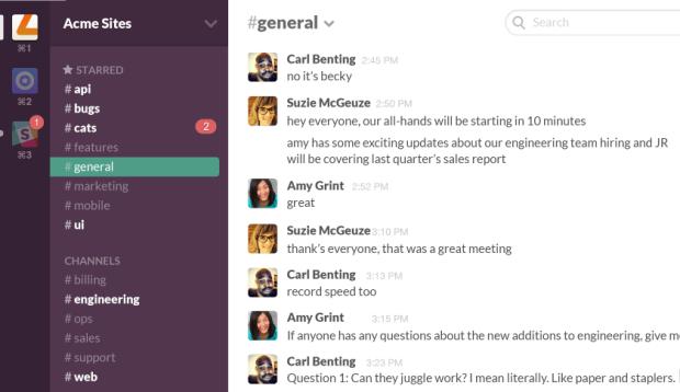 herramientas community manager slack