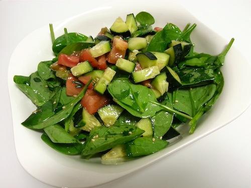 espinacas ensalada