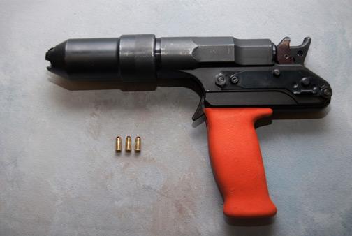 Pistola de perno Cautivo