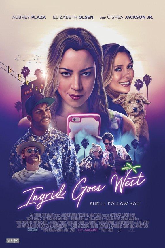 Ingrid va al Oeste póster