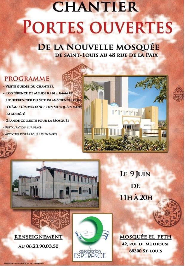 Portes ouvertes de la nouvelle mosqu e de saint louis 68 des d mes des minarets - Portes ouvertes saint louis ...