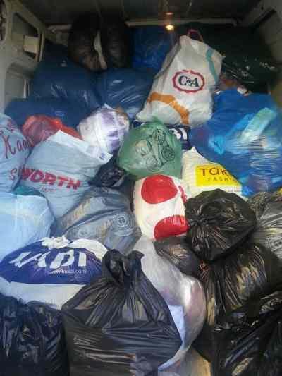 Collecte de vêtements pour la Syrie Mosquée de Sélestat
