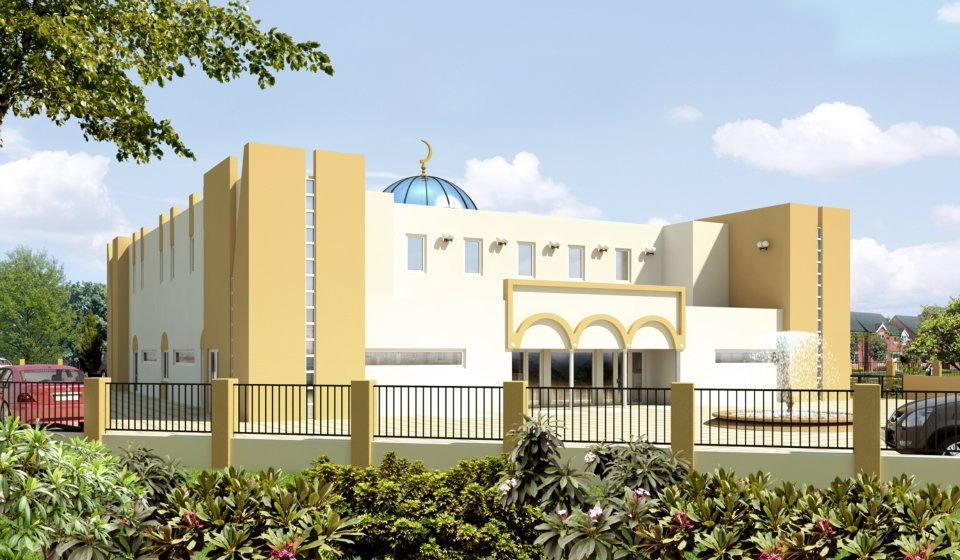 La mosquée El Fath de Saint-Louis