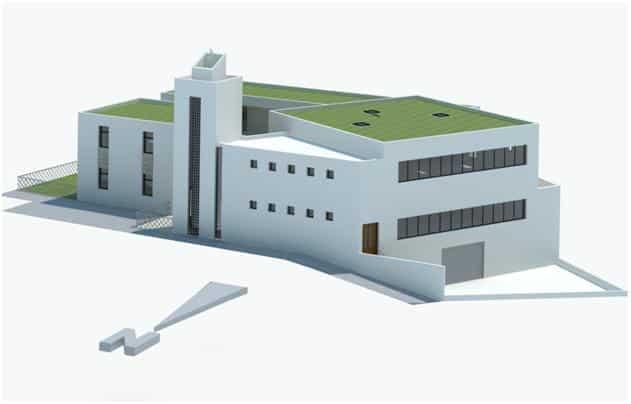 La mosquée de la Duchère