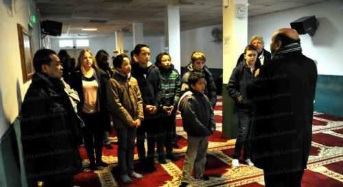 La mosquée s'ouvre aux protestants