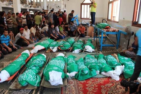 26 palestiniens d'une même famille dont 19 enfants tués à l'heure de l'Iftar4