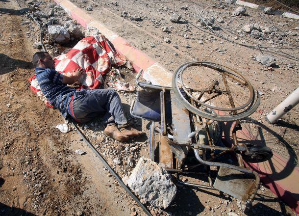 Israël assassine une fille hanidicapée à Gaza1