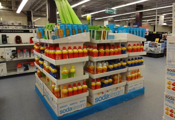Sodastream Carrefour Evry II