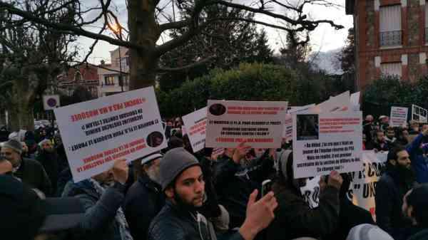 Forte mobilisation contre l'islamophobie à Saint-Gratien 12