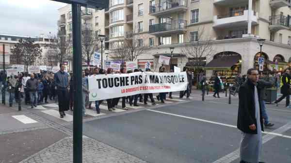 Forte mobilisation contre l'islamophobie à Saint-Gratien 7