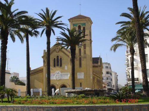 Tetouan - Place Moulay el Mehdi - une ancienne église