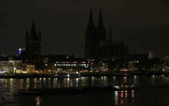 Pegida Demonstration in Köln