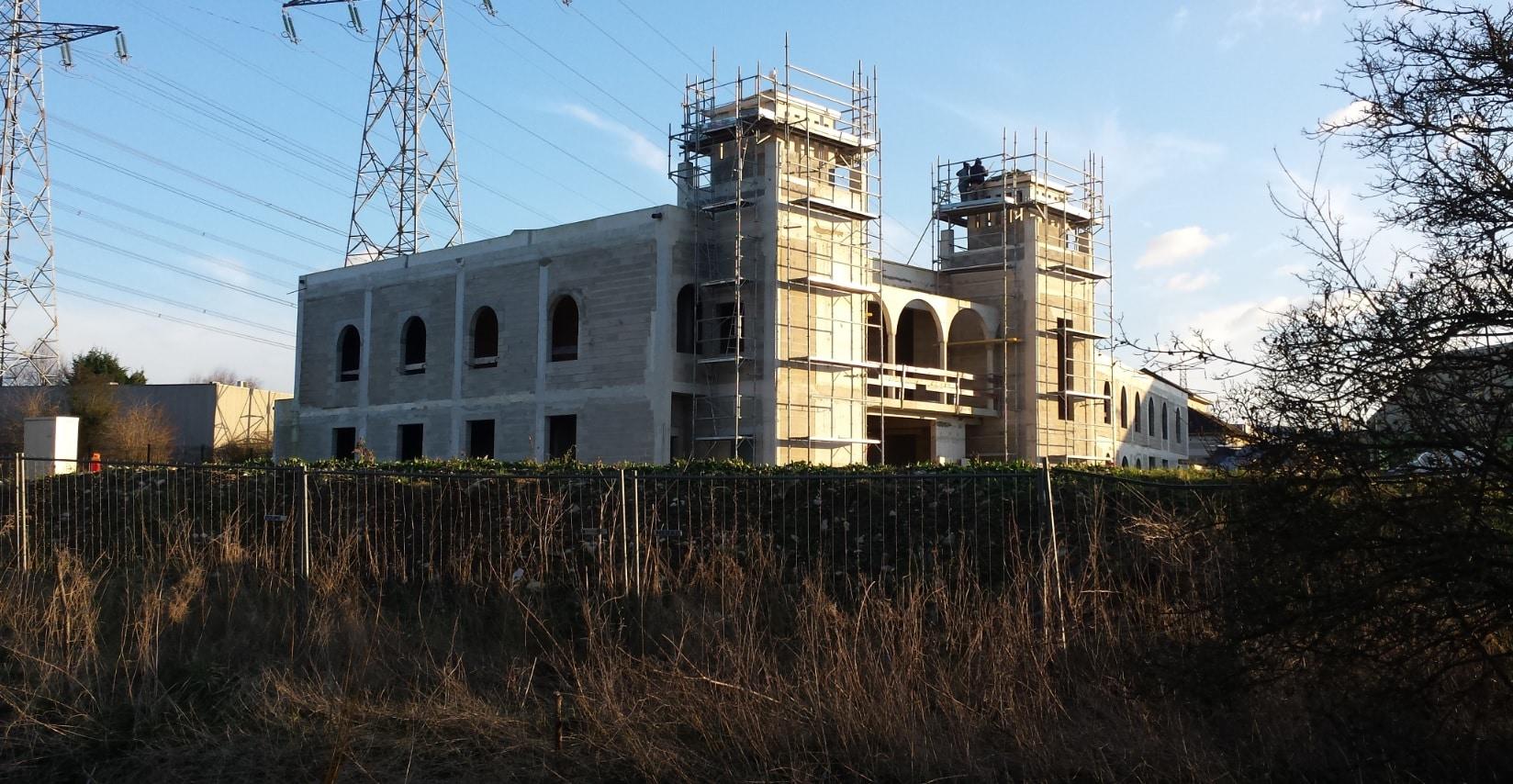 l interminable chantier de la mosqu 233 e de roissy en brie des d 244 mes des minarets