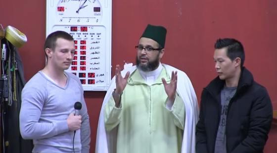 Deux nouvelles conversions à l'islam à la mosquée Aïcha de Montpellier