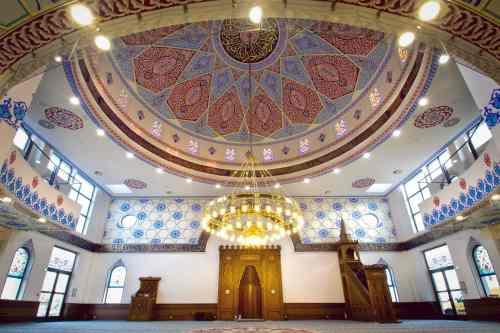 Salle de prière de la mosquée de Bischwiller