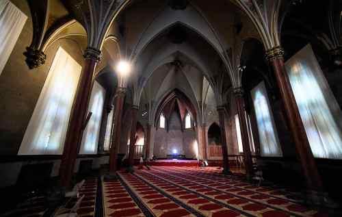 Salle de prière mosquée de Syracuse