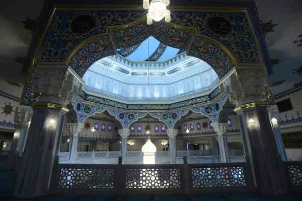Salle de prière de la mosquée centrale de Moscou 1