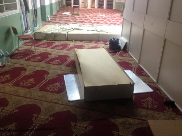 Perquisition musclée dans une mosquée d'Aubervilliers 8