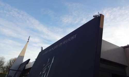 Vidéosurveillance à la grande mosquée de Belfort 1