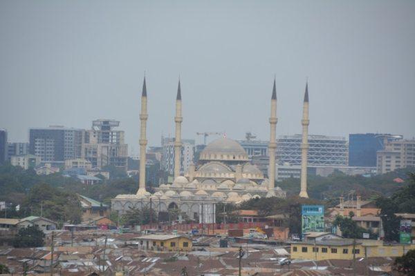 La mosquée Furkan d'Accra