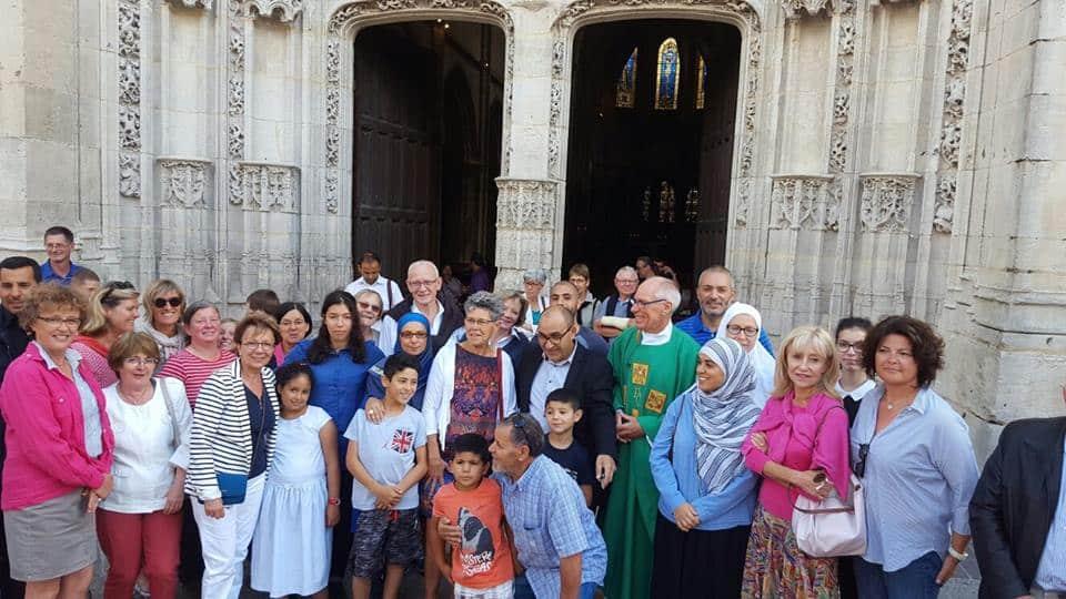 Musulmans à la Cathédrale de Dreux