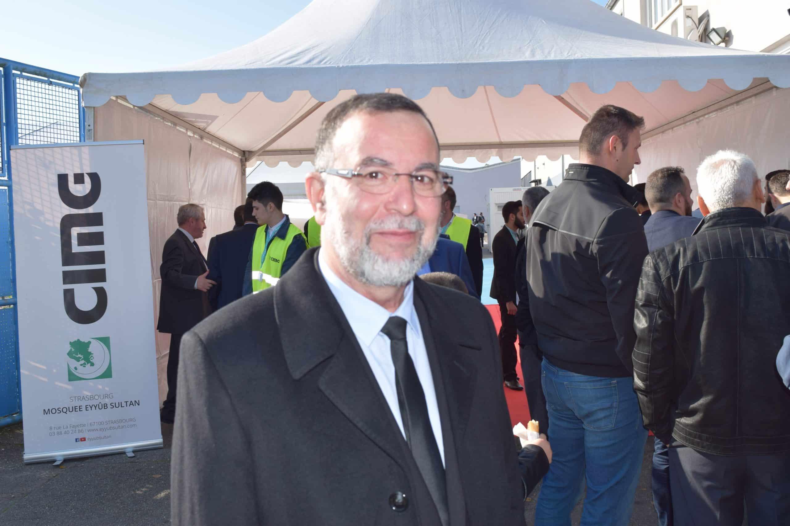 Chaïb Choukri, président de la Grande Mosquée de Strasbourg