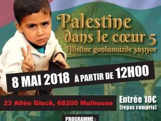 Palestine dans le coeur Mulhouse