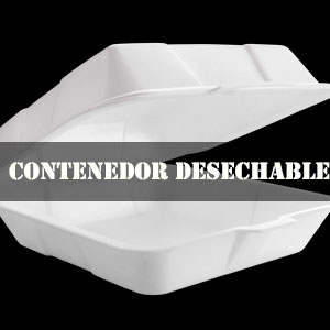 CONTENEDOR DESECHABLE
